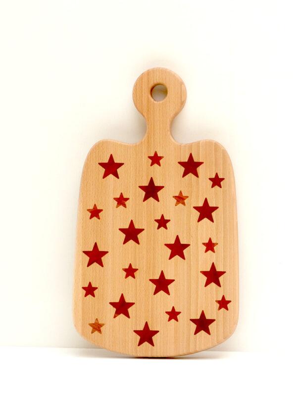 Krájecí prkénko s hvězdičkami