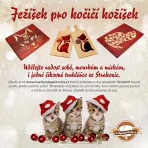 leták na podporu prodeje kuchyňských prkénkekpro kočičí útulek
