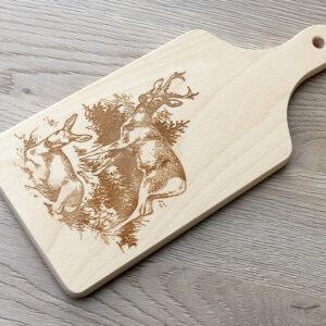 Dekorativní dřevěné prkénko Srnčí